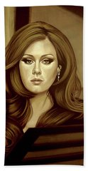 Adele Gold Hand Towel