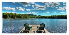 Adirondack Panorama Bath Towel