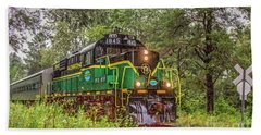 Adirondack Scenic Rr Engine 1845 Bath Towel