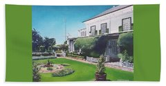 Admiralty House Hand Towel by Tim Johnson
