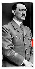 Adolf Hitler The Visionary Circa 1941 Color Added 2016 Bath Towel