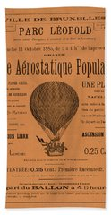 Aerostatique Populaire Hand Towel