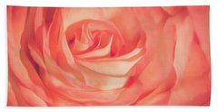 Aesthetics Of A Rose Bath Towel