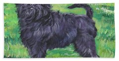 Affenpinscher Bath Towel