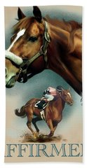 Affirmed With Name Decor Hand Towel