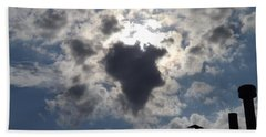 Africa Cloud Shape  Hand Towel by Don Koester