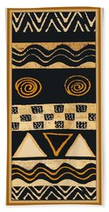 African Memories Bath Towel