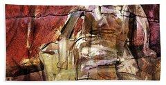 After Henry Moore IIII Hand Towel