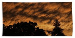 After Storm Sunset Hand Towel