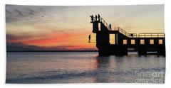 After Sunse Blackrock 3 Hand Towel