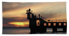 After Sunset Blackrock 5 Hand Towel