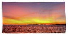 After Sunset Bath Towel by Doug Long