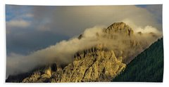 After The Rain In The Austrian Alps. Hand Towel