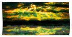 After The Storm Hand Towel by Caito Junqueira