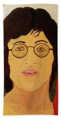 Afterlife Concerto John Lennon Bath Towel by Rand Swift