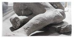 Aftermath Of Mount Vesuvius Hand Towel