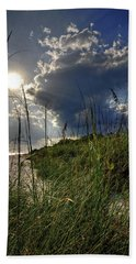 Hand Towel featuring the photograph Afternoon At A Sanibel Dune by Chrystal Mimbs