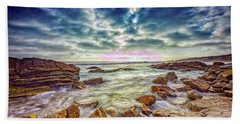 Afternoon At Crystal Cove Bath Towel