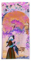 Afternoon Stroll Hand Towel