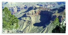 Afternoon View Grand Canyon Hand Towel