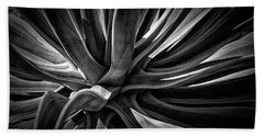 Agave Burst Bath Towel by Lynn Palmer