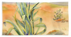 Agave In Borrego Hand Towel