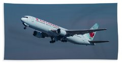 Air Canada Boeing 767 Taking Off From Lax Bath Towel