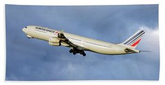 Air France Airbus A340-313 117 Hand Towel