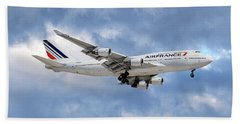 Air France Boeing 747-428 118 Hand Towel