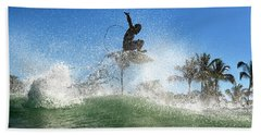 Air Show Bath Towel