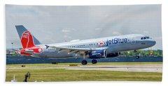 Airbus A320 Boston Strong Bath Towel