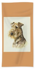 Airedale Hand Towel