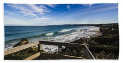 Aireys Inlet Lookout Hand Towel