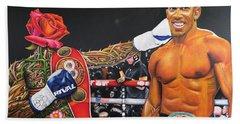 Aj Omo Oduduwa The World Champion Hand Towel