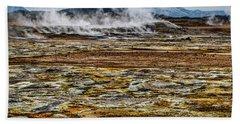 Akureyri, Iceland Bath Towel by Shirley Mangini