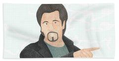 Al Pacino Bath Towel