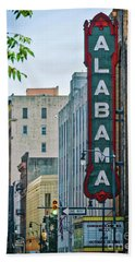 Alabama Theatre Bath Towel