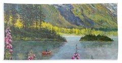 Alaska Bath Towel by Lou Ann Bagnall