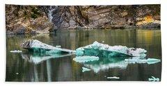 Alaskan Icebergs Hand Towel