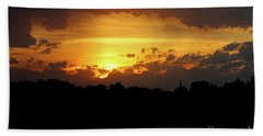 Alberta Sunset Bath Towel