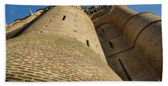 Albi Cathedral Low Angle Bath Towel by RicardMN Photography