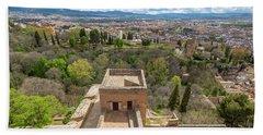 Alcazaba Alhambra De Granada Bath Towel