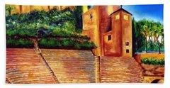 Alcazaba Y Teatro Romano Hand Towel