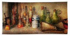 Bath Towel featuring the photograph Alchemy - The Home Alchemist by Mike Savad