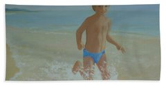 Alex On The Beach Bath Towel