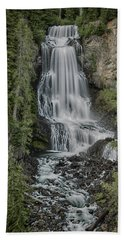 Hand Towel featuring the photograph Alexander Falls by Stephen Stookey