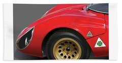 Alfa Romeo Stradale Detail Hand Towel