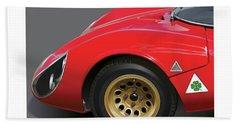 Alfa Romeo Stradale Detail Bath Towel