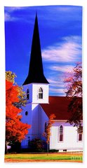 Algonquin Rd Church St Johns United  Bath Towel