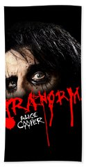 Alice Cooper Paranormal Face Bath Towel